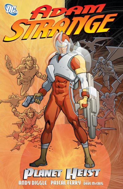 Adam Strange cover by Pascal Ferry
