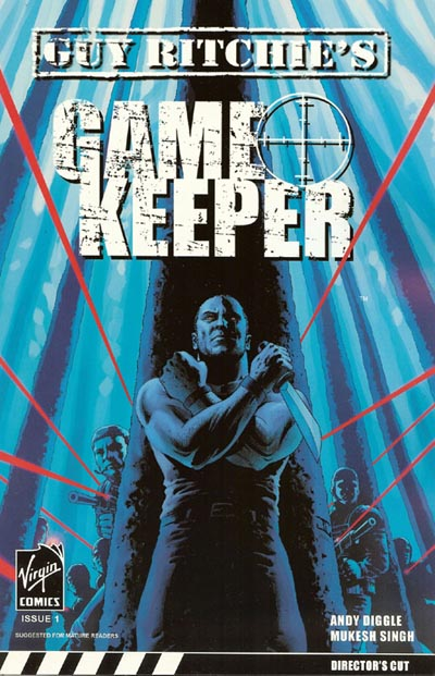 Gamekeeper # 1 alternative cover by John Cassaday