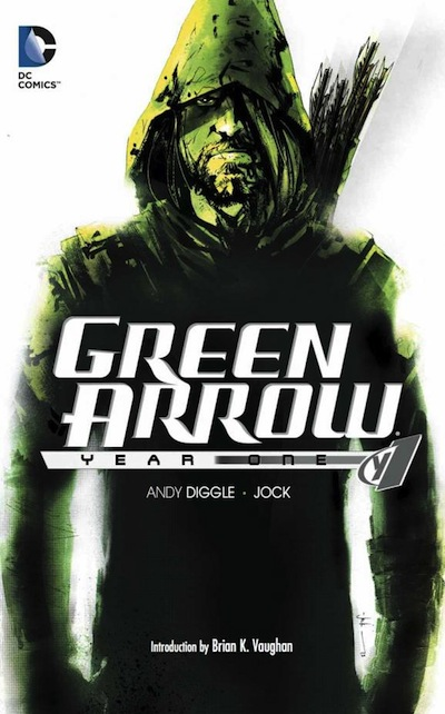 Green Arrow: Year One cover art by Jock