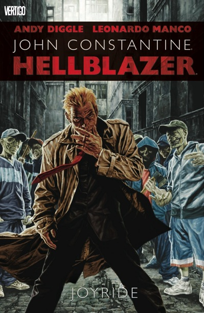 Hellblazer: Joyride cover by Lee Bermejo